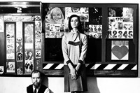 Peter-Blake-with-model-Marie-Lise-Gres-at-the-'Lov