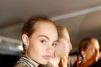 Backstage at the Burberry Spring_Summer 2019 Show_