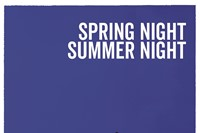 01_SPRING NIGHT, SUMMER NIGHT_poster