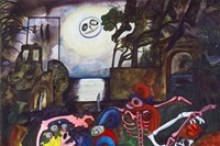 Edward Burra - Dancing Skeletons