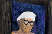 28. Peter Doig, Portrait (Corbusier), 2009, © Pete