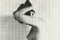 11_Erwin Blumenfeld_Nude Under Grid, New York, 195