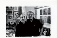8_Carla-Sozzani-and-Helmut-Newton-in-her-Studio_Mi