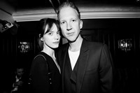 Stacy Martin and Jefferson Hack