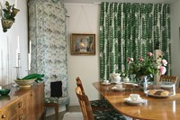 1. The dining room in Anne's house, Millesgarden.