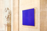Installation view, Blenheim Palace,Yves Klein, Unt