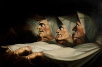 Henry Fuseli - The Weird Sisters, Macbeth