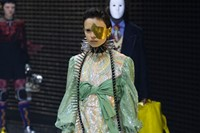 Gucci Autumn/Winter 2019 mask show AW19 FW19