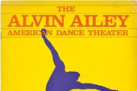 3. Alvin Ailey American Dance Theater program cov