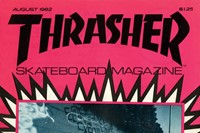 Thrasher Magazine, August 1982