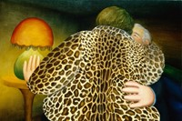 Beryl Cook, The Leopardskin Coat, n.d. Courtesy Ou
