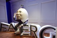 'A Fabergé Easter at Harrods' Humpty Dumpty window by Simon