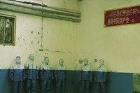 Liu Bolin, Hiding in the City No.18, Laid Off