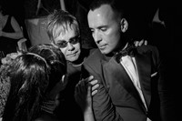 Elton John and David Furnish, LA, 02-2009, photo c