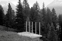 Platform at Pontresina, 2015 by Tom Lovelace
