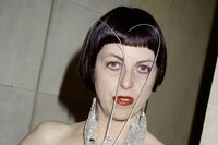 Isabella Blow at the American Embassy, 1998