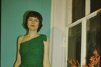 Vivienne in the green dress, New York City 1980