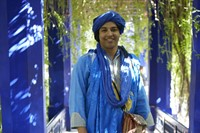 Berber at the Jardin Majorelle