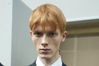 Linus Wordemann (Supa Model Management) at Dior Homme A/W14