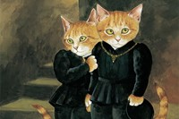 The Cats in the Tower (after Millais), from Pre-Raphaelite C