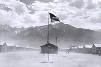 5. Dorothea Lange, Manzanar Relocation Center, Man