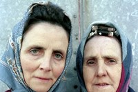 Rob Bremner, Two Old Ladies with Headscarves