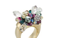 Atelier Swarovski by Mary Katrantzou Ring A/W11