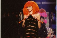 Dress by Jean-Paul Gaultier on the occasion of the 40th anni