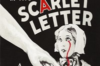 A, The Crying Scarlet Letter, 2010, by Francesco Vezzoli
