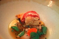 Lobster and Chamomile by Mauro Colagreco