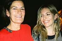 Venetia Scott and Sienna Miller
