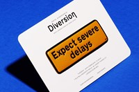 "Anya Hindmarch ""Diversion"" sticker"