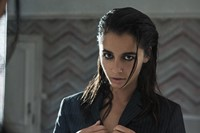 Naomi Scott Aladdin Power Rangers Charlies Angels style