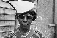 Dawoud Bey. 'A Woman at Fulton Street and Washington Avenue'