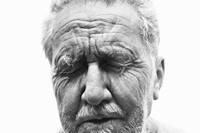 Ezra Pound, poet, Rutherford, New Jersey, June 30, 1958
