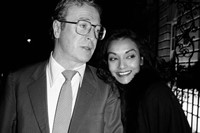 Michael Caine and Shakira Caine, Annabel's 1988
