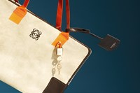 "Loewe paper ""Amazona"" bag, invite to S/S12 show"