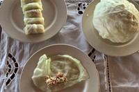 Laila Gohar Recipe Cabbage Vegetarian New York Chef Column