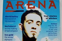 Christos on the cover of Arena Magazine, Issue 8 March/April