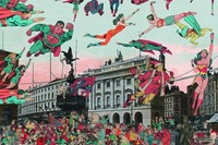 London: Piccadilly Circus - The Convention of Comic Book Cha