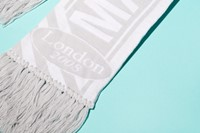 Maison Martin Margiela scarf, given away when they moved