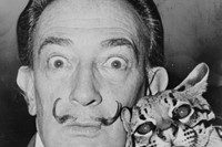 Dalí and Babou, 1965