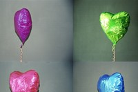 Four Deflated Balloons