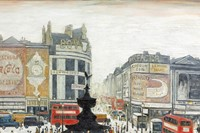L. S. Lowry, Piccadilly Circus, London, 1960
