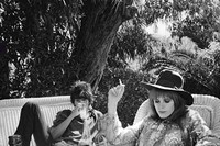 Marianne Faithfull and Keith Richards in Morocco, ca. 1967
