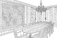 Dining Room by Thomas Broomé