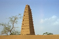 Grand Mosque in Agadez, Niger