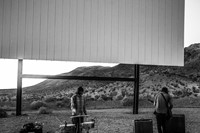 No Age performing at the Skyline Drive-In, Barstow