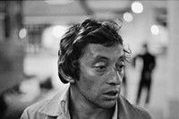 Serge at the station about to board the sleeper to Paris, 19