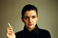 Siobhan with a cigarette, Berlin 1994 by Nan Goldin